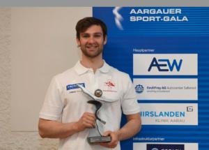 Scott Bärlocher Aargauer Sportler des Jahres